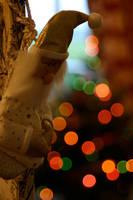 Bokeh Santa by KajiyaEol