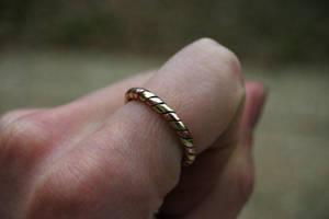 brass and copper ring by KajiyaEol