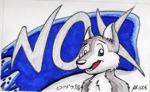 Nox -Conbadge- by ShadouKitsune