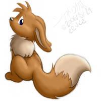 doodle 5 - Eevee by ShadouKitsune