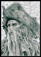 POTC - Davy Jones by WitchiArt