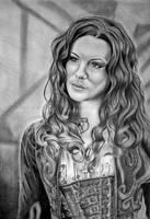 Princess Anna by WitchiArt
