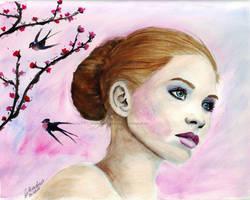 Cherry by WitchiArt