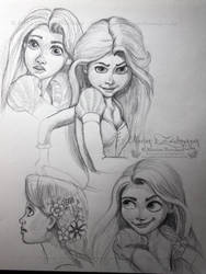 Sketchbook III by WitchiArt