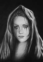 Dark Tears by WitchiArt