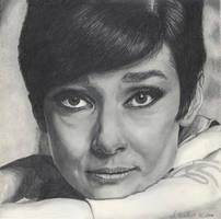 Audrey Hepburn by WitchiArt