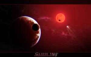 Gliese 581 by arisechicken117