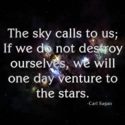Carl Sagan Quote II by arisechicken117