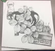 Bucket O Leaves by daw-nn
