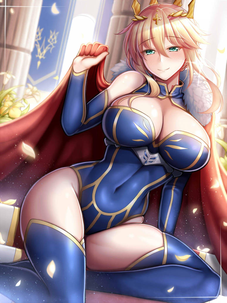 Artoria Pendragon (Lancer) by Guardian-Panda