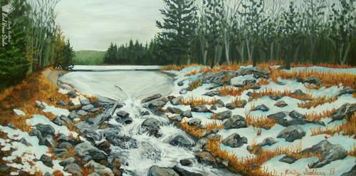 Goose Pond Inspiration #4 by emilysodders