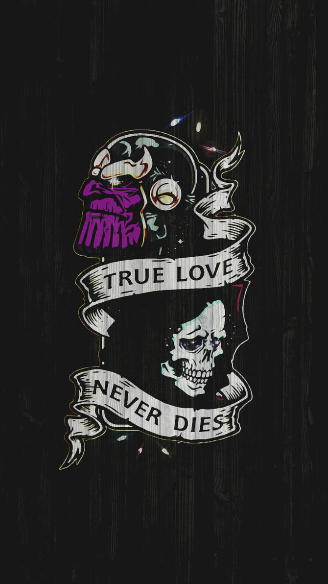 Thanos And Mistress Death True Love Never Dies By Korkmaz0648 On