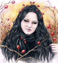 Caroline Aveira by Evels-Selena