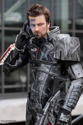 Zephon Cos (Commander Shepard) #01 by take7x