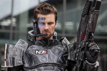 Zephon Cos (Commander Shepard) #02 by take7x