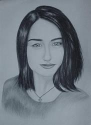 Drawing - Elizabeth_07 by eduaarti