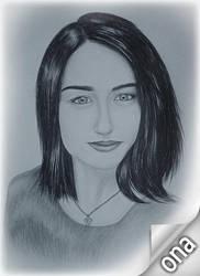 Drawing - Elizabeth_08 by eduaarti