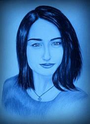 Drawing - Elizabeth_09 by eduaarti