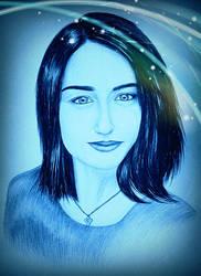 Drawing - Elizabeth_10 by eduaarti