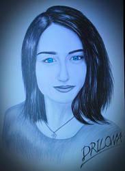 Drawing - Elizabeth_11 by eduaarti
