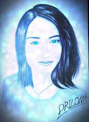 Drawing - Elizabeth_12 by eduaarti