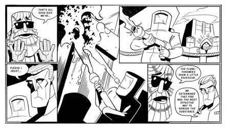 Booger and the Loosers: Graffiti Pg11 by StickDinosaur
