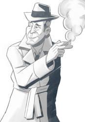 Bogart by StickDinosaur