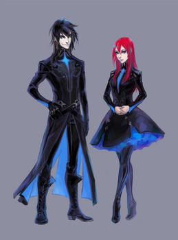 Dressed in Black by Kutty-Sark