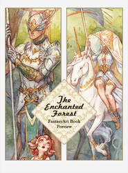 The Enchanted Forest: Fantasy Art Book Preview by Kutty-Sark