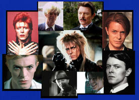 David Bowie Characters by MandyB82