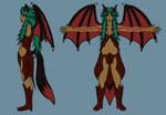 Fendiga Ortho: Rachael Demon by GeminiShadows