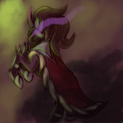 Painting Test - Sombra I by GeminiShadows