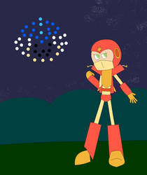 Fanmade Robot Master - Firework Man by Legacy-Galaxy