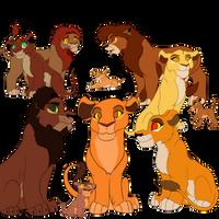 Kiara's Kids by lolpeaceoutlol-TLK