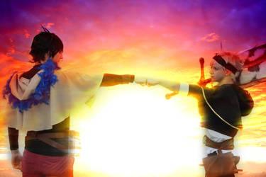 Yuno and Asta - Black Clover by IGrayI