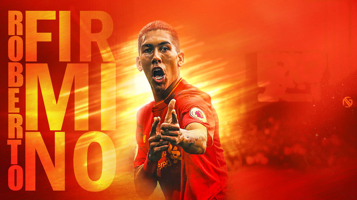 Roberto Firmino Wallpaper By Dreamgraphicss On Deviantart