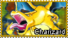 Pokemon - Charizard Stamp by Natakiro