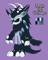 Isnoh the Wendigo [Reference] by Natakiro