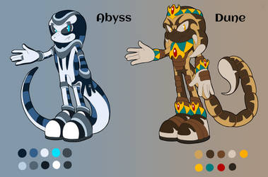 Abyss and Dune [Reference] [Commission] by Natakiro