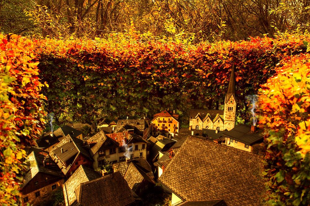 The Hidden Village by kuzco890