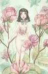 Pink lady by theLusciousDollmaker