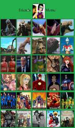 Friendship meme: Speed Girl has a lot of friends by MonsterIsland1969
