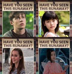 The Runaways Molly, Richard, Yuri and Yoona by MonsterIsland1969