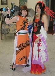 Cosplay-Ryu-ou and Ashura by Shu-Maat