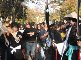 Cosplay-Bleach: epic fight by Shu-Maat