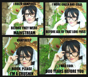 Hipster Seth meme by Shu-Maat