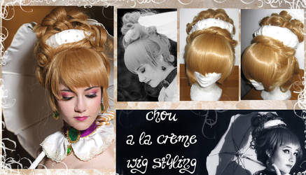 Chou a la creme - the wig by Shu-Maat