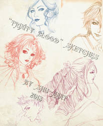 Trinity Blood sketchdump by Shu-Maat