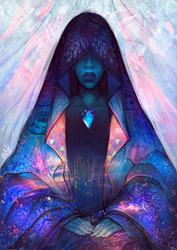 Steven Universe: Blue Diamond by Kholouz