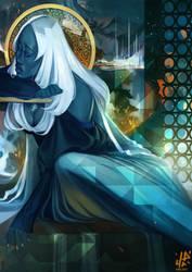 Blue Diamond feeling blue by Kholouz